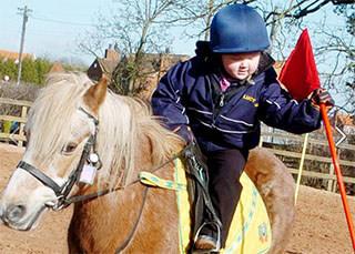 horse riding for children