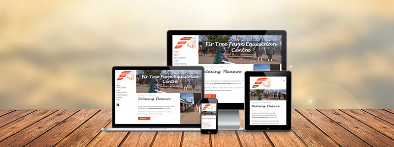 new fir tree farm equestrian centre website