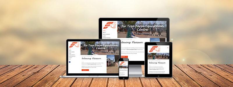 new fir tree farm equestrian centre website